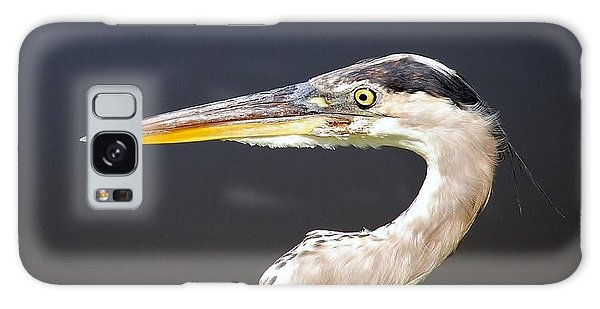 Heron Profile Galaxy Case