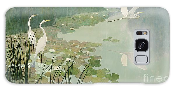 Herons In Summer Galaxy S8 Case