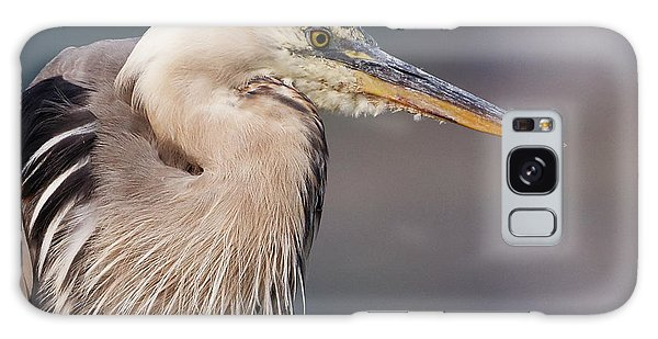 Herons Pause Galaxy Case