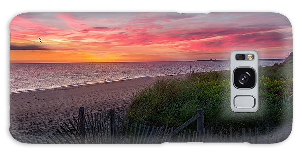 Herring Cove Beach Sunset Galaxy Case