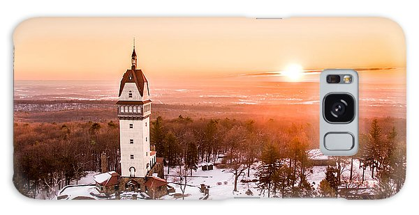 Sunrise Galaxy Case - Heublein Tower In Simsbury Connecticut by Petr Hejl