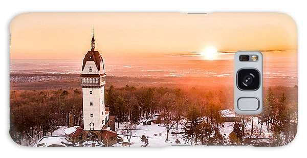 Heublein Tower In Simsbury Connecticut Galaxy Case by Petr Hejl