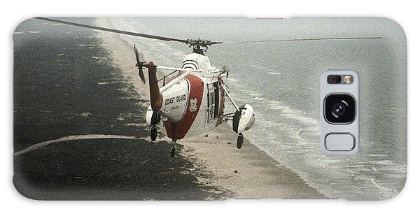 Hh-52a Beach Patrol Galaxy Case by Steven Sparks