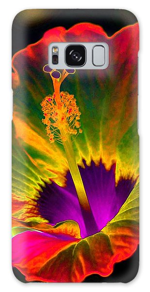 Hibiscus 01 - Summer's End - Photopower 3189 Galaxy Case