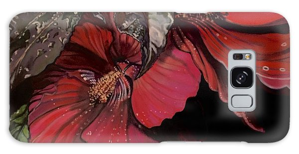 Hibiscus After The Rain Galaxy Case
