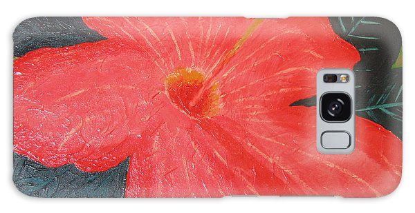 Hibiscus Galaxy Case by Barbara Yearty