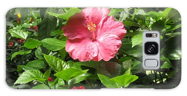 Hibiscus Galaxy Case by Deborah Dendler