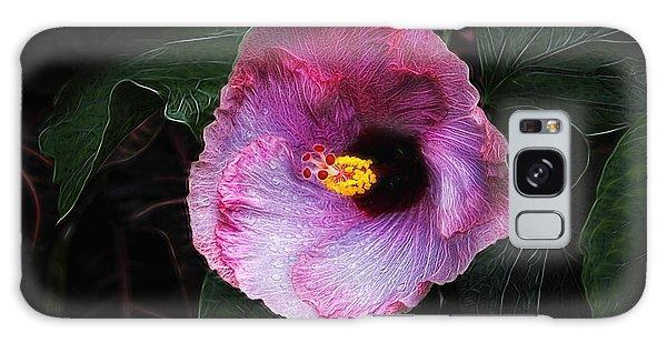 Hibiscus Galaxy Case - Hibiscus Flower by Tom Mc Nemar