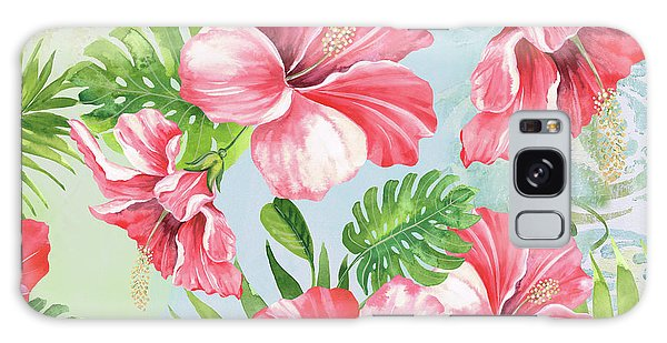 Hibiscus Galaxy Case - Hibiscus Paradise-jp3966 by Jean Plout