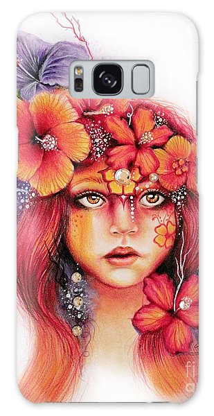 Hibiscus Galaxy Case by Sheena Pike