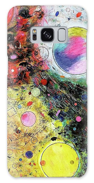 Galaxy Case featuring the mixed media Hidden Aliens by Michael Lucarelli