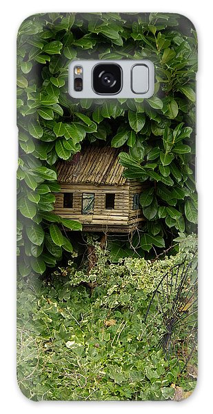 Hidden Birdhouse Galaxy Case