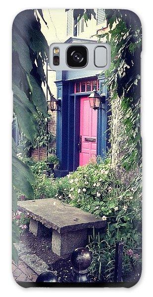 Hidden Garden Door Galaxy Case