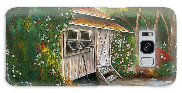 Hidden Garden Galaxy Case