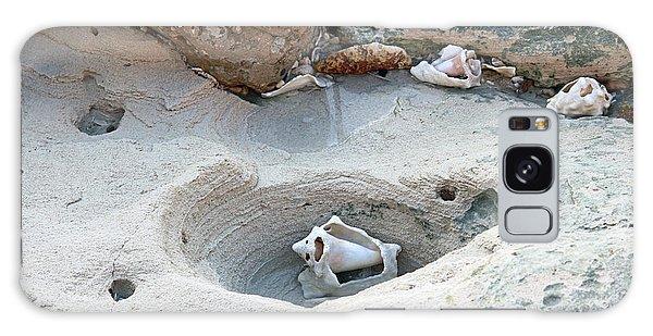 Hidden Shells On Bimini Beach Galaxy Case