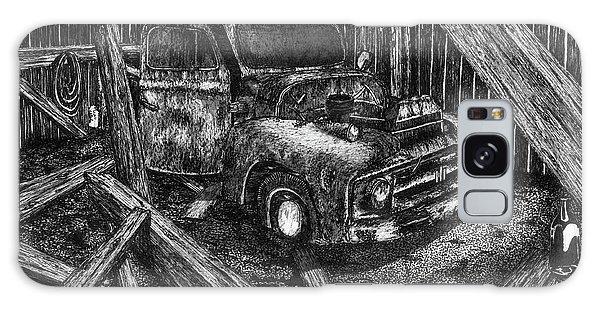Old Truck Galaxy Case - Hidden Treasures by Jonathan Baldock