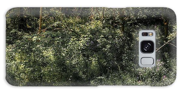 Hidden Wildflowers Galaxy Case