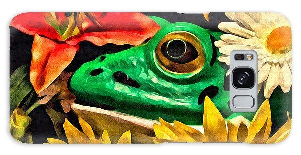 Hiding Frog Galaxy Case