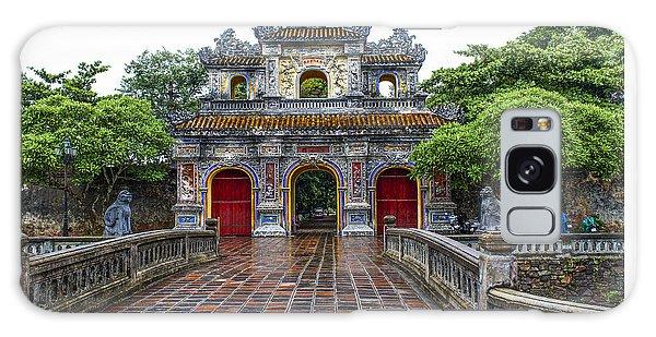 Hien Nhon Gate, Citadel, Hue,vietnam Galaxy Case
