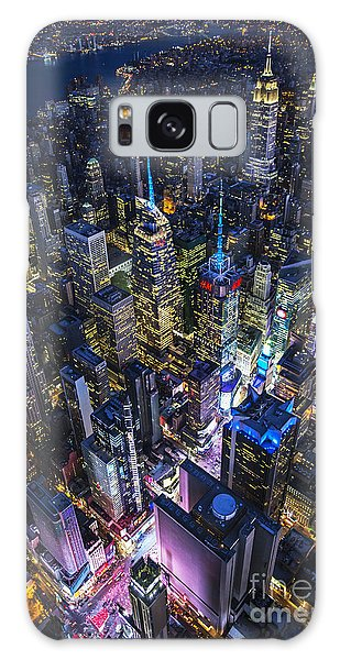 High Above The City Galaxy Case by Roman Kurywczak