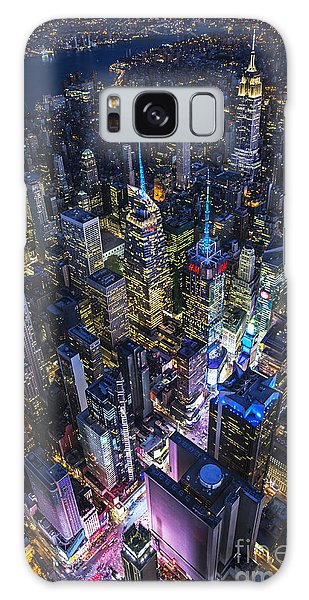 High Above The City Galaxy Case