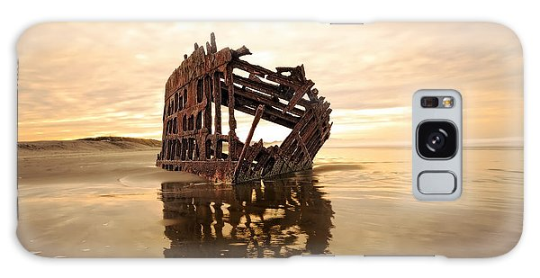 Peter Iredale Galaxy Case - High And Dry, The Peter Iredale by Kay Brewer