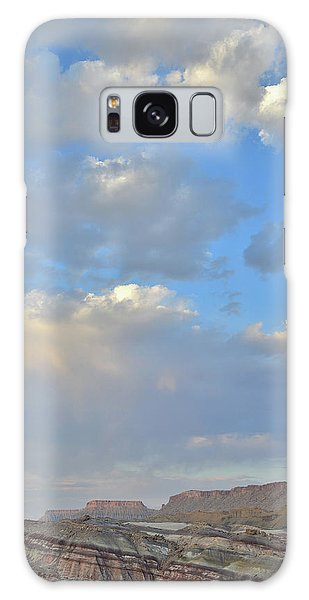 High Clouds Over Caineville Wash Galaxy Case