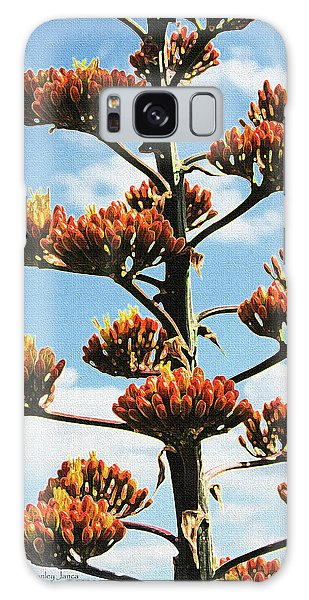High Country Red Bud Agave Galaxy Case