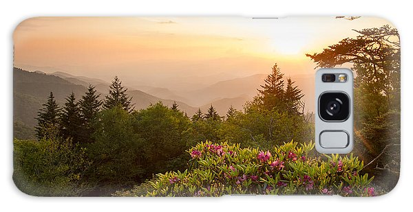 High Country Sunset Galaxy Case by Doug McPherson