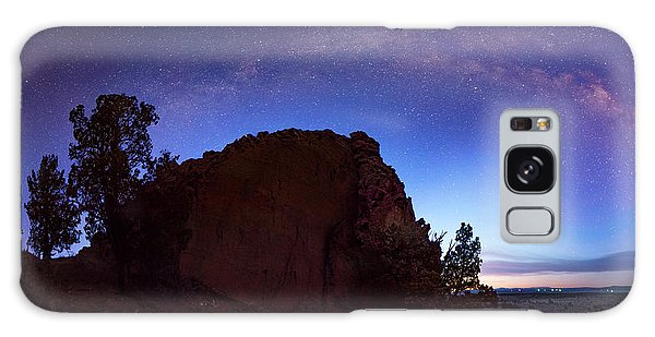 High Desert Dawn Galaxy Case by Leland D Howard