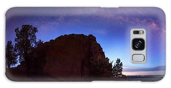 High Desert Dawn Galaxy Case by Leland D Howard