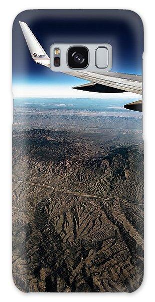 High Desert From High Above Galaxy Case