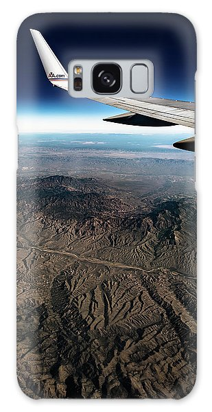 High Desert From High Above Galaxy Case