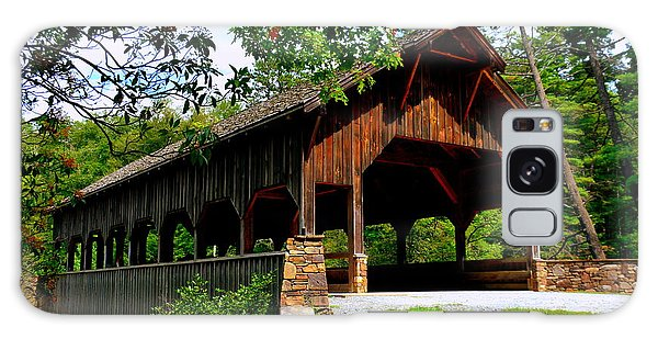 High Falls Covered Bridge Galaxy Case