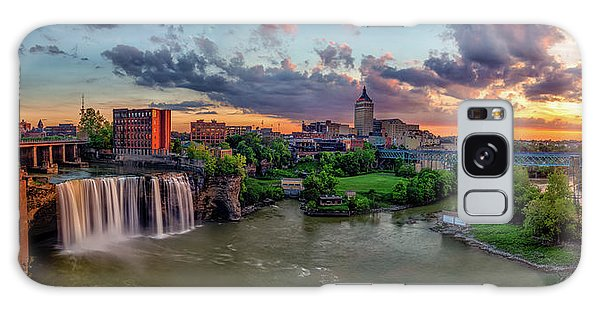 High Falls Panorama Galaxy Case