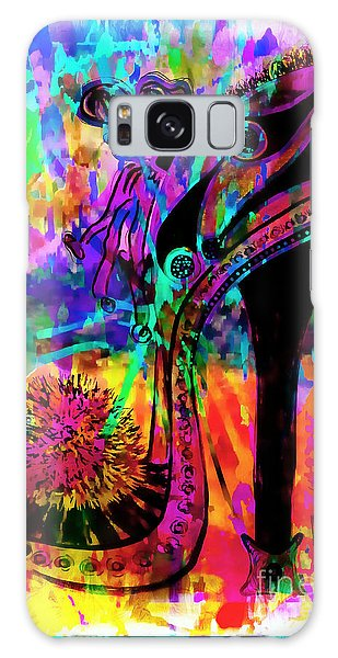High Heel Heaven Abstract Galaxy Case