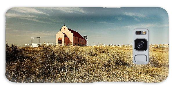 Sacred Heart Galaxy Case - High Plains Church by Todd Klassy