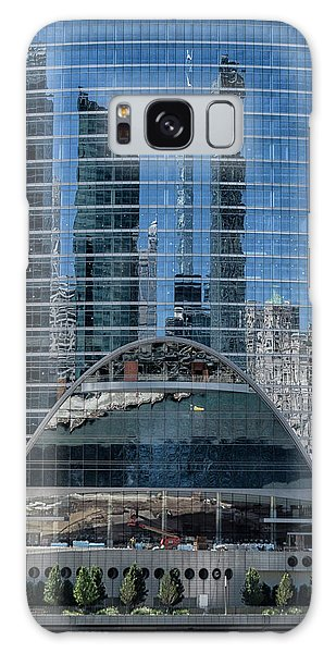 High Rise Reflections Galaxy Case by Alan Toepfer