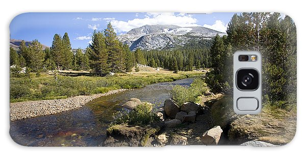 High Sierras Stream Galaxy Case by Bonnie Bruno
