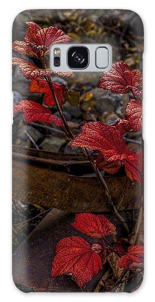 Highbush Cranberry Leaves Galaxy Case