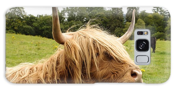 Galaxy Case featuring the photograph Highland Coo by Christi Kraft