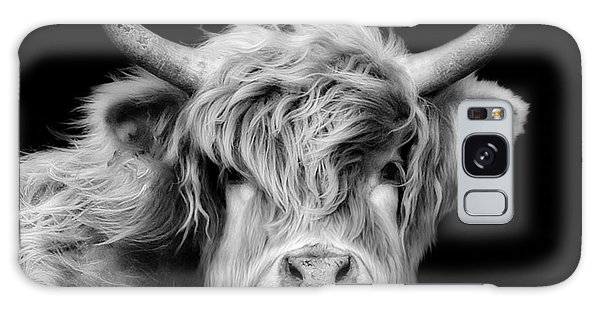 Highland Coo Galaxy Case by Linsey Williams
