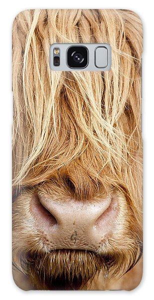 Highland Cow Galaxy Case