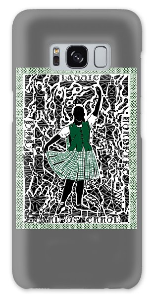 Galaxy Case featuring the digital art Highland Dancing by Darren Cannell