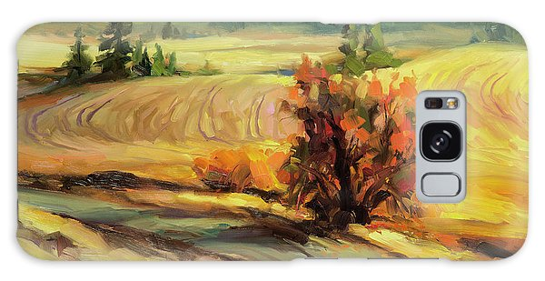 Galaxy Case featuring the painting Highland Road by Steve Henderson