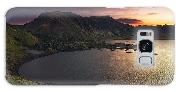 Iceland Galaxy S8 Case - Highland Sunset by Tor-Ivar Naess