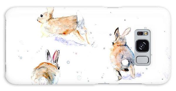 Hightailing Bunnies Galaxy Case