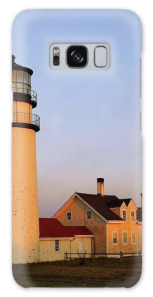 Higland Lighthouse Cape Cod Galaxy Case by Roupen  Baker