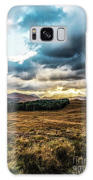 Galaxy Case featuring the photograph Higlands Wonders by Anthony Baatz