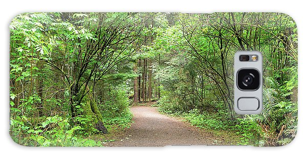 Galaxy Case - Hiking Trail Along Lewis And Clark River by David Gn